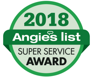 Angie's List 2018 Super Service Award
