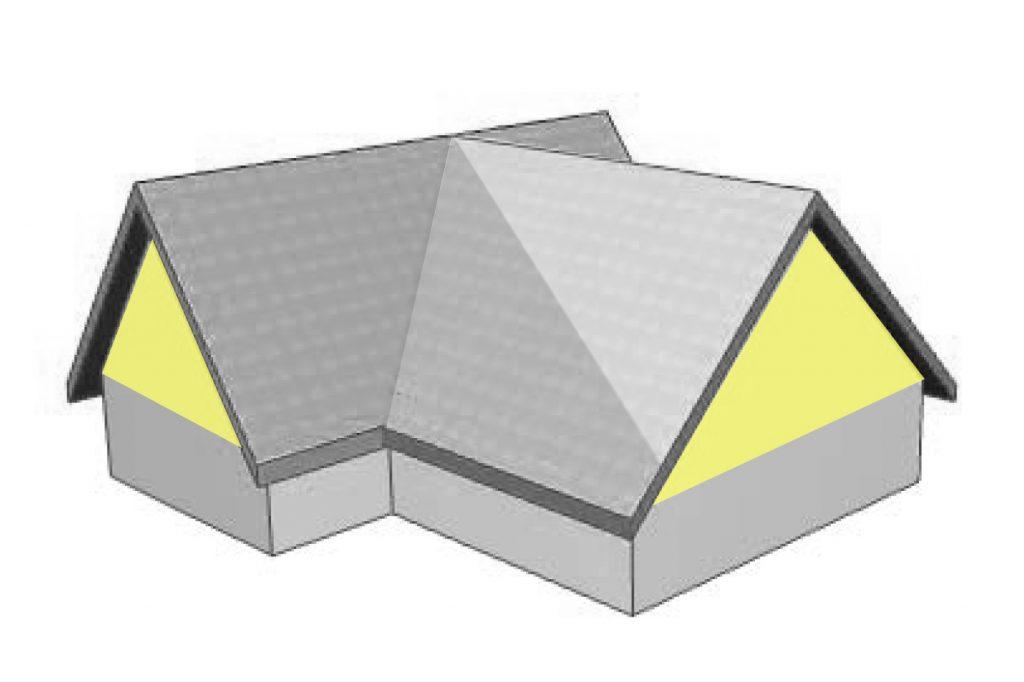 Gable Roof  https://commons.wikimedia.org/wiki/User:KDS444